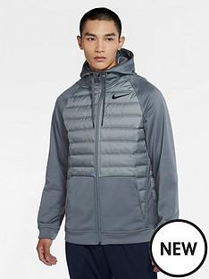 nike-training-therma-full-zip-winterized-hoodie-grey
