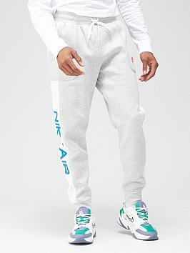 nike-air-contrast-fleece-joggers-grey