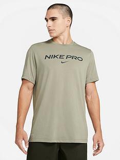 nike-training-plus-size-pro-t-shirt-stone