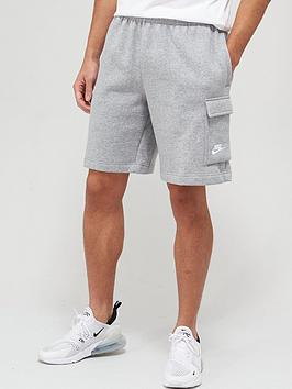 nike-club-cargo-shorts-dark-grey