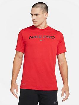 nike-training-pro-t-shirt-red