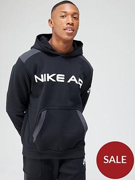 nike-air-contrast-block-pullover-hoodie-blackgrey