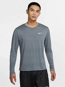 nike-running-miler-long-sleevenbsptop-grey