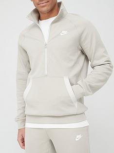 nike-modern-half-zip-sweat-top-stone