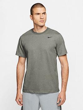 nike-training-dry-t-shirt-stone