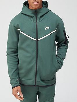 nike-tech-fleece-full-zip-hoodie-green