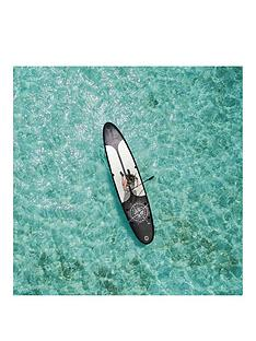 pure-nautical-inflatable-stand-up-paddle-board-15-feet-complete-set-with-pump-patch-tool-foot-lead-adjustable-paddle-and-waterproof-2l-bag