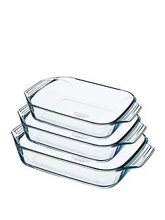pyrex-3-piece-rectangular-roaster-set