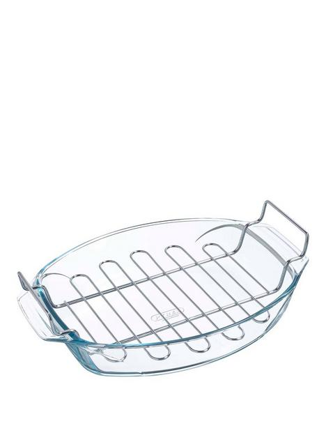 pyrex-oval-roaster-with-rack