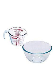 pyrex-measuring-jug-and-bowl-set