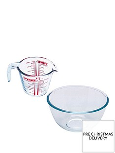 pyrex-measuring-jug-and-bowl-set