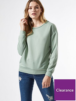 dorothy-perkins-oversized-sweatshirt-sage-green