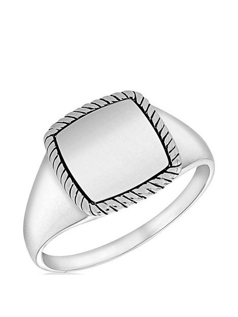 the-love-silver-collection-sterling-silver-twist-edge-signet-ring