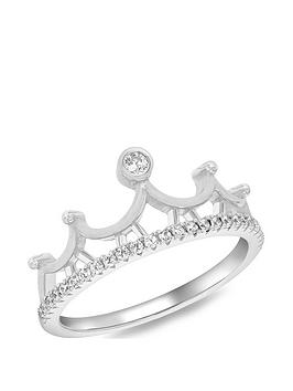 the-love-silver-collection-sterling-silver-rhodium-plated-cubic-zirconia-tiara-crown-ring