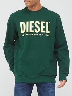 diesel-division-logo-crew-neck-sweat-green