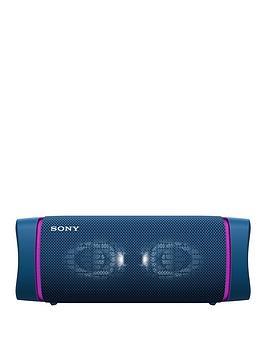 sony-srsxb33-extra-bass-portable-bluetooth-speaker-blue