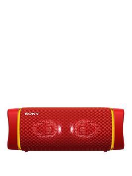 sony-srsxb33-extra-bass-portable-bluetooth-speaker-red