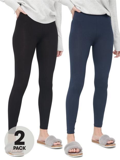v-by-very-valuenbsp2-pack-basic-leggings-blacknavy