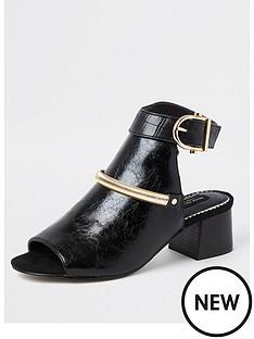 river-island-wide-fit-hardware-low-heel-shoeboot-black
