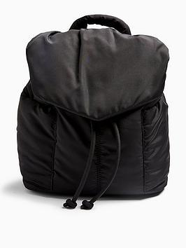 topshop-nylonnbspbackpacknbsp--black