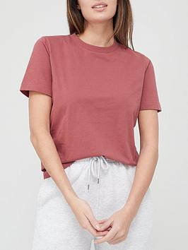 v-by-very-valuenbsprelaxed-fit-t-shirt-brick