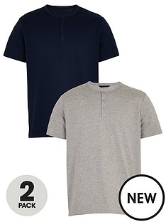 very-man-valuenbsp2-pack-henley-t-shirts-multi