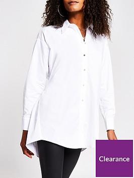 river-island-poplin-open-back-shirt-white