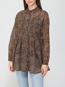 v-by-very-georgette-longline-shirt-animal-print