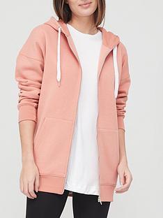 v-by-very-valuenbspzip-through-hoodie-pink