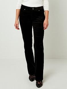 joe-browns-cord-bootcut-jeans-black