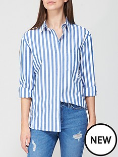 v-by-very-cotton-shirt-blue-stripe