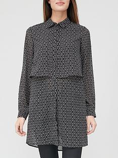 v-by-very-double-layer-georgette-shirt--nbspblack-print