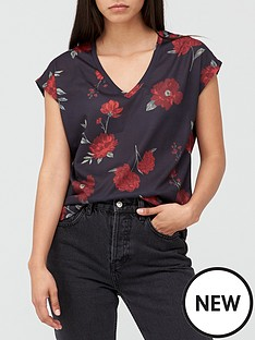 v-by-very-v-neck-grown-on-sleeve-t-shirt-rose-print