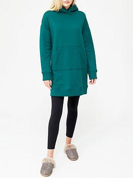 v-by-very-hoodie-sweat-dress-forest-green