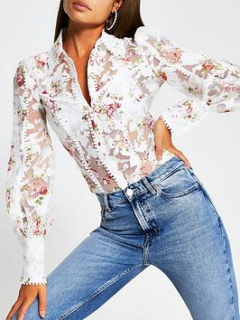 river-island-floral-burnout-detail-fitted-shirt-white