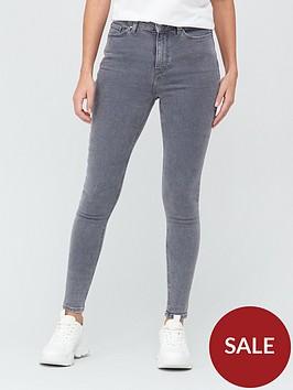 v-by-very-ella-high-waist-skinny-jean-grey
