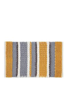 catherine-lansfield-textured-stripe-bath-mat