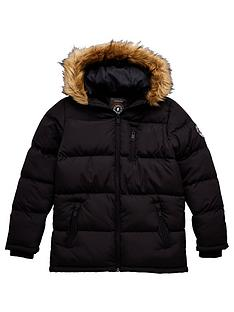 brave-soul-boys-longline-water-resistantnbsppadded-coat-black