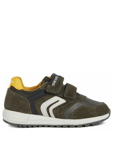 geox-boys-alben-strap-trainer-khaki