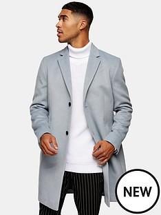 topman-classic-fit-coat-grey