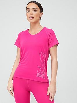 nike-running-icon-clash-miler-t-shirt-pinkwhite