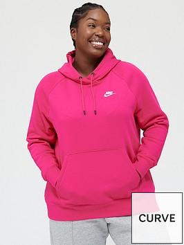nike-nsw-essential-pullovernbsphoodie-curvenbsp--pink