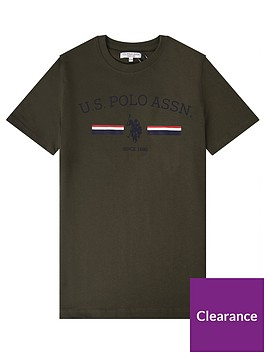 us-polo-assn-boys-striped-rider-print-short-sleevenbspt-shirt-khaki