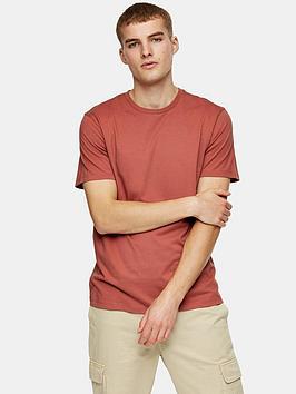 topman-classic-fit-t-shirt-red