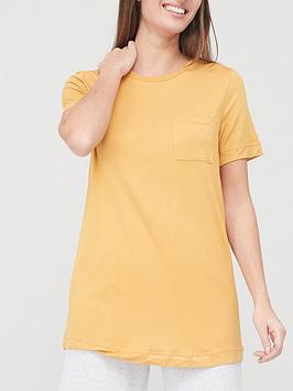 v-by-very-valuenbsppocket-front-swing-t-shirt-mustard