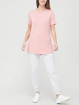 v-by-very-valuenbsppocket-front-swing-t-shirt-blush