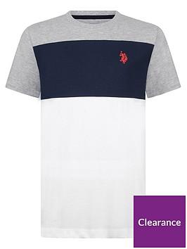 us-polo-assn-boys-colourblock-t-shirt-grey-marl