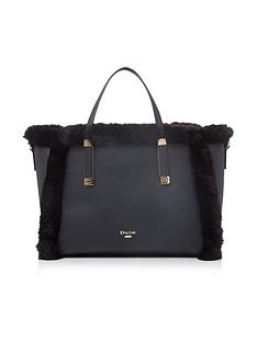 dune-london-duffies-tote-bag--nbspblack