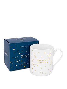 katie-loxton-porcelain-mug-one-in-a-million-whitegold-95-x-85-cm