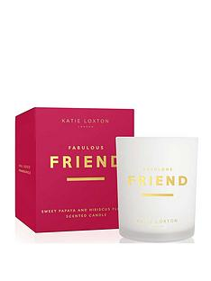 katie-loxton-sentiment-candle-fabulous-friend-sweet-papaya-and-hibiscus-flower-160g